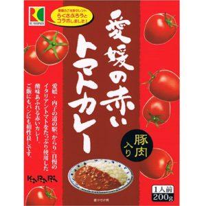 愛媛の赤いトマトカレー