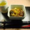 江戸ッ子煮とキャベツの煮物
