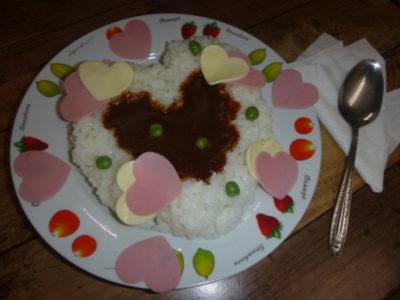 バレンタイン ハヤシビーフ