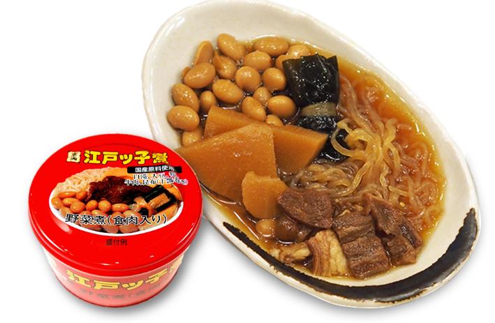 愛され続けて70年、愛媛のご当地缶詰「江戸ッ子煮」