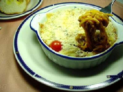 ハッシュドビーフ de グラタン