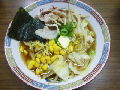 秋 バター醤油ラーメン