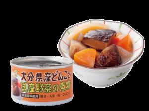 大分県産どんこと国産野菜の煮物160g3缶入り
