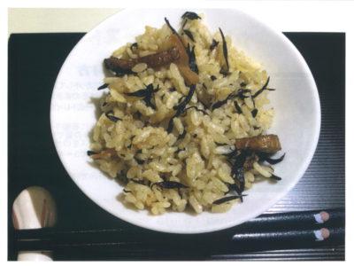 長崎県産ひじきの煮物(缶詰)で簡単ひじきご飯