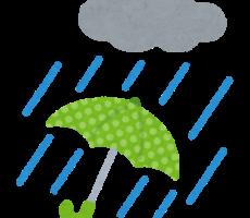 梅雨ではあるのですが…