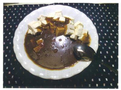 豆腐でカレー